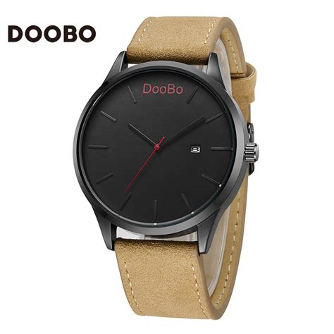 2016 doobo fashion casual mens watches top brand luxury
