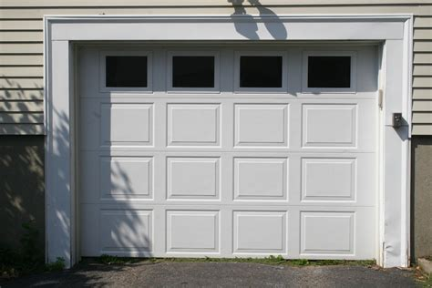 Garage Door With Windows a guide to repairing garage door windows