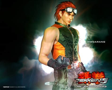game wallpaper tekken 5 hwoarang