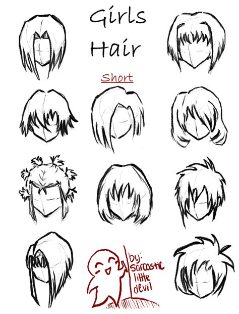 animation hairstyles short cute short anime hairstyles pictures to pin on pinterest