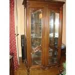 Large Antique Curio Cabinet Large Antique Louis Xiv China Curio Cabinet 12 21