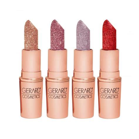Lipstik Gerard gerard cosmetics glitter lipstick make up free