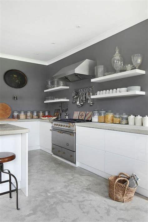 deco cuisine blanche et grise tendance cuisine 50 exemples avec la couleur grise
