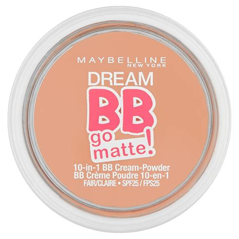 Maybelline Matte Powder 3x maybelline bb go matte 10 in 1 bb powder