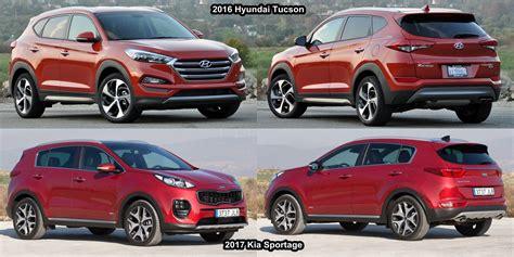 Kia Sportage Tucson Benim Otomobilim 2017 Kia Sportage Vs 2016 Hyundai Tucson