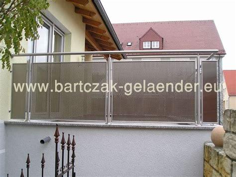 edelstahl balkongeländer bausatz balkongel 228 nder edelstahl glas bausatz bartczak