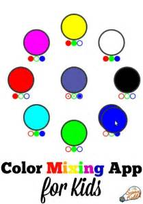 color mixing teach binary in one simple step the science kiddo