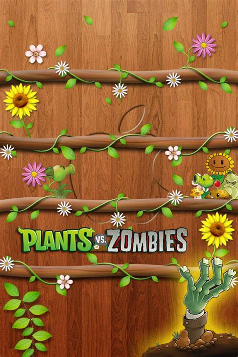iphone wallpaper vs background plants vs zombies iphone wallpaper wallpapersafari