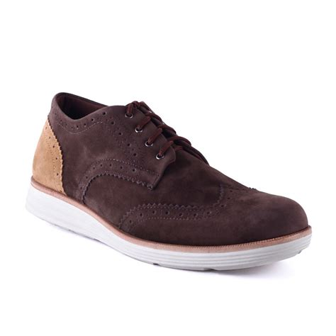 Sepatu Casual Pria Mibil Low Boots Brown Sepatu Boots Bandung sepatu suede casual pria ziglar brown mall