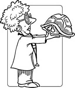 girl vet coloring page coloriage v 233 t 233 rinaire et tortue timide coloriages 224