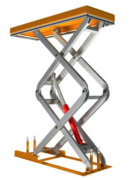 scissor lift design diy scissor lift table papacad com