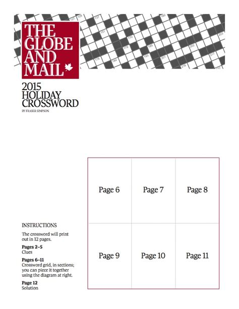 printable globe puzzle the globe and mail s annual printable and huge holiday