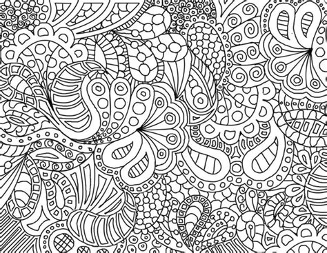zentangle coloring pages printable colored zentangle patterns images