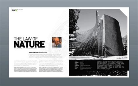 layout magazine architecture 36 stunning magazine and publication layouts for your