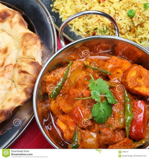 indian curry dinner indian curry dinner meal stock images image 5465744