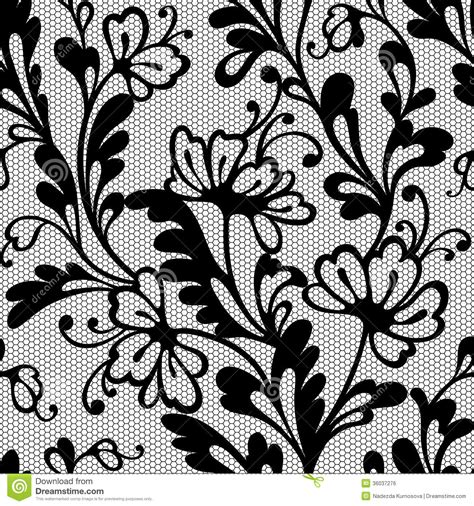 flower pattern lace seamless flower lace pattern royalty free stock image