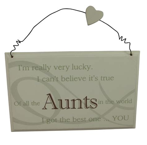 best aunt plaque great gift for a special aunt birthday