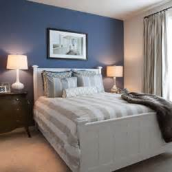 Blue Bedroom Accent Wall Ideas Blue Accent Wall Master Bedroom With Grey Accents