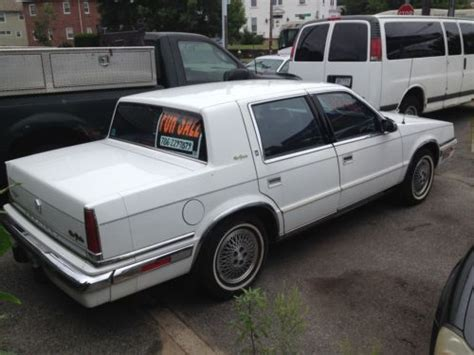 purchase used 1989 chrysler new yorker fifth avenue