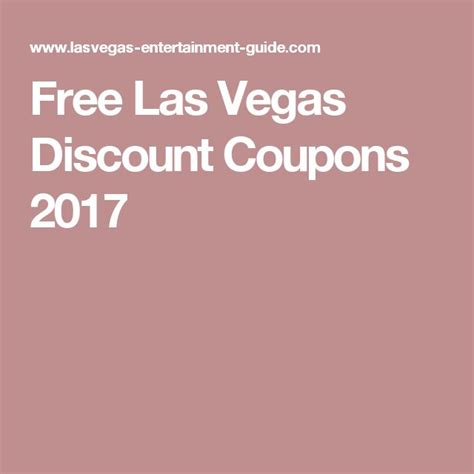 free coupons las vegas buffets 25 best ideas about discount coupons on