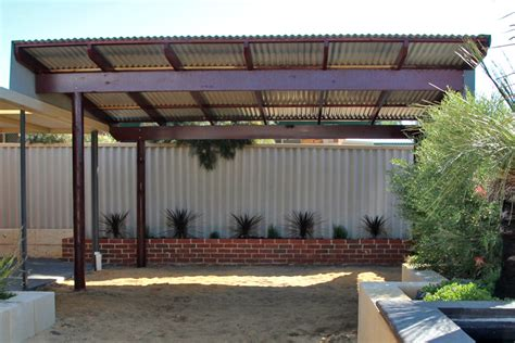 flat roof pergola outdoor goods