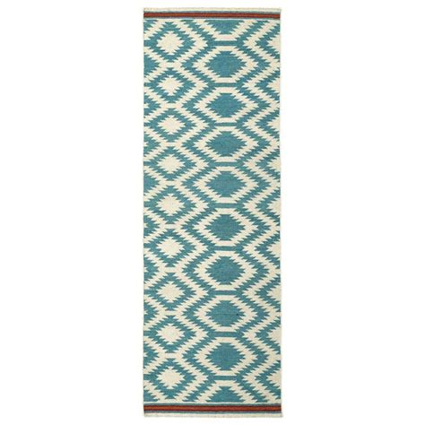 Turquoise Runner Rug Kaleen Nomad Turquoise 2 Ft 6 In X 8 Ft Runner Nom04 78 2 6 X 8 The Home Depot