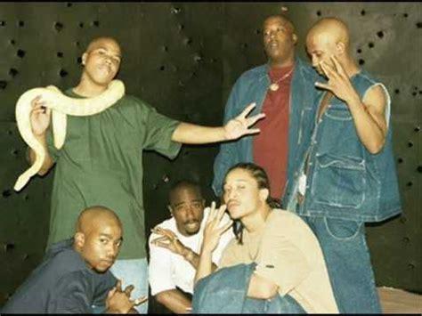 Kaos Row Records Black Y 2pac fame og