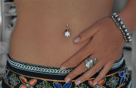 navel piercing the new trend to express your style belly
