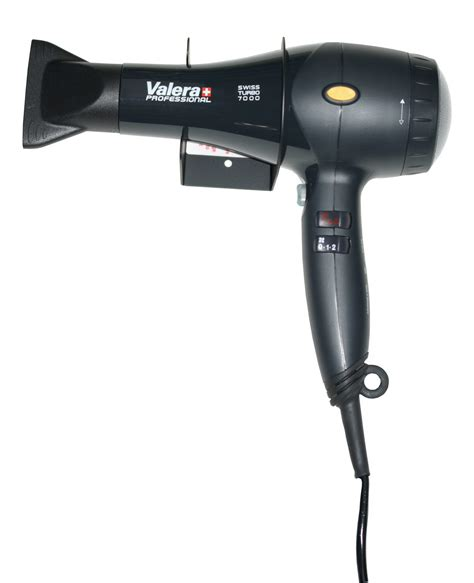 valera swiss turbo 7000 1800w hairdryer with steel wall