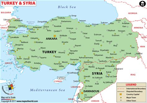 where is syria on the map syria on map map of syria and turkey travel maps and