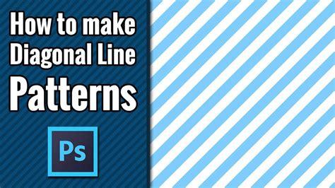 diagonal line pattern photoshop tutorial stripe diagonal line patters photoshop tutorial for