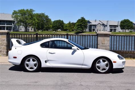 Toyota Supra For Sale In Florida 1993 Toyota Supra White Blk Turbo Vin Tags 1 Owner
