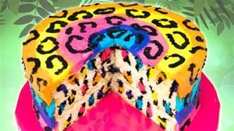 leoparden kuchen rezept rainbow leopard cake from cookies cupcakes and cardio