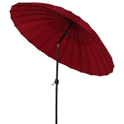 Sunnydaze Shanghai Aluminum 8 Foot Patio Umbrella With 8 Foot Patio Umbrella