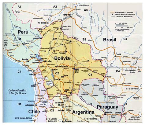 map of bolivia map of bolivia bolivia south america mapsland maps