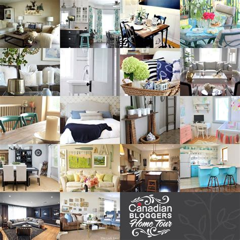 best home decor blogs canada canadian bloggers home tour next week a pop of pretty