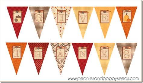 printable banner give thanks lalaloopsy printable party pack peonies and poppy seeds