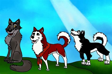 balto puppies balto and as puppies by vlcek222 on deviantart
