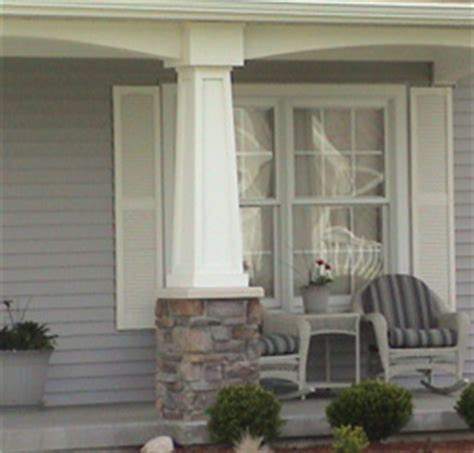 Cheap Porch Columns Fypon Pvc Tapered Column Wraps At Discount Prices
