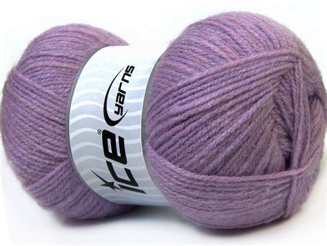 Dijamin Benang Rajut Acrylic benang rajut basics lilac 84e crafts
