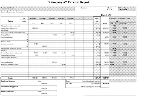 quarterly expense report template trucking company expense report company expense report profit and expense spreadsheet