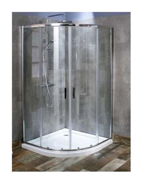 Shower Enclosures Complete by Gallini Complete Quadrant Shower Enclosure In Stock