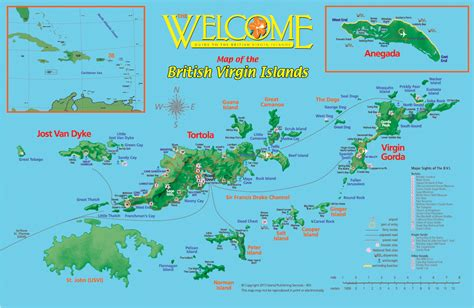 british virgin islands map location british virgin islands anchorages