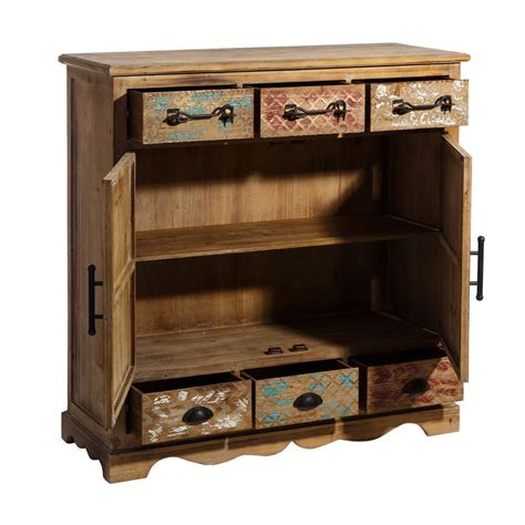 credenza in legno credenza in legno naturale mobili rustici country
