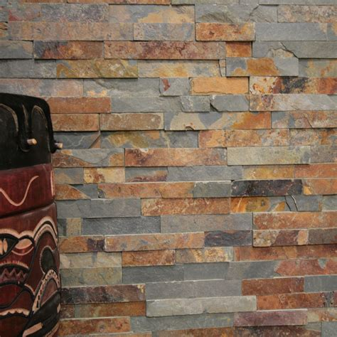 naturstein innenwand 1 musterst 252 ck quot multi color quot wand verblender riemchen