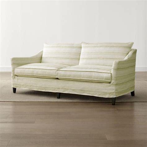 Linen Crosby Sofa Slipcover World Market Linen Slipcover Sofa