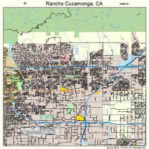rancho cucamonga california map 0659451