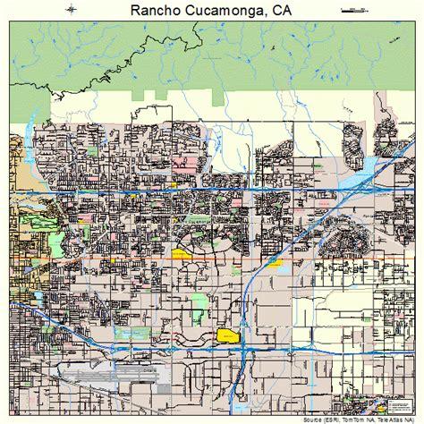 california map rancho cucamonga rancho cucamonga california map 0659451