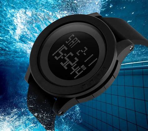 Skmei No 1142 Black Original skmei 1142 led digital sports wrist watches black 2pcs