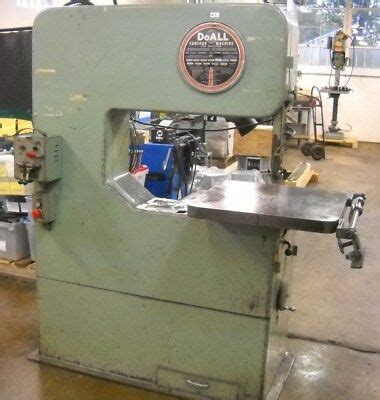 Doall Vertical Band Saw Zw 3620 Cad 12 000 00 Picclick Ca